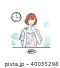女性 ベクター 人物のイラスト 40035298