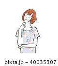 女性 ベクター 上半身のイラスト 40035307
