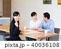 訪問営業 夫婦 ビジネスウーマンの写真 40036108