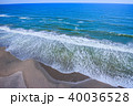 空撮 九十九里浜 長生村の写真 40036528