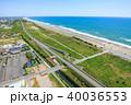 九十九里浜 長生村 海の写真 40036553