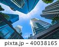 《東京都》超高層ビル・ビジネス街 40038165
