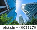 《東京都》超高層ビル・ビジネス街 40038170