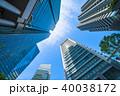 《東京都》超高層ビル・ビジネス街 40038172