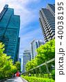 《東京都》超高層ビル・ビジネス街 40038195
