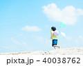 風船と子供 40038762