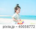 海と子供 40038772