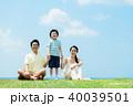 家族 親子 人物の写真 40039501