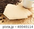 ペーパーフィルター コーヒー ブラックコーヒーの写真 40040114