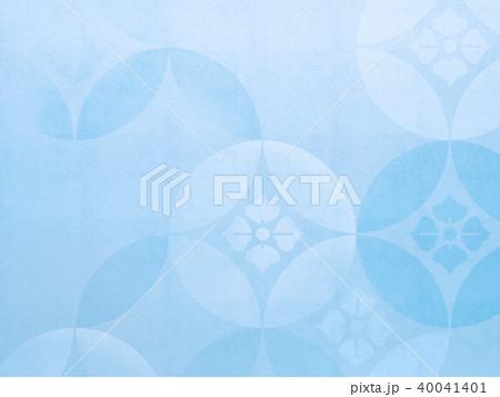 和紙-背景-ブルー 40041401