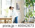 オフィス ビジネスウーマン ビジネスの写真 40042673