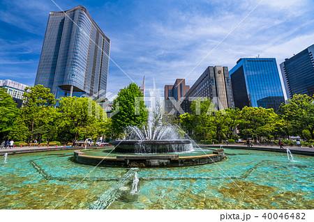 《東京都》都市風景・日比谷公園 40046482