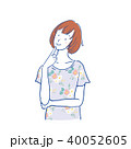 女性 ベクター 白バックのイラスト 40052605