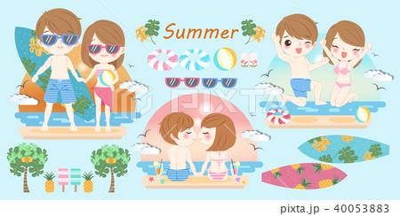 couple on the beach 40053883