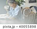 人物 女性 カフェの写真 40055898