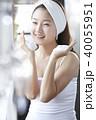 人物 女性 スキンケアの写真 40055951