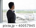 ビジネスマン 空港 オフィス ビジネス イメージ 40057945