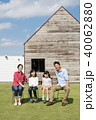 家族 マイホーム 人物の写真 40062880