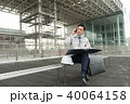 スマートフォン 建築現場 人物の写真 40064158