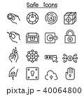 錠 カギ 鍵のイラスト 40064800