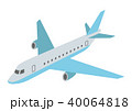 飛行機 航空機 旅客機のイラスト 40064818