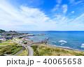 館山市 平砂浦海岸 海の写真 40065658