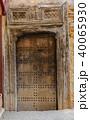 Old wooden door in medina of Fes 40065930