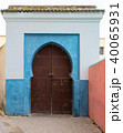 Color entrance gate with door in Fes 40065931
