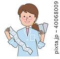 薬剤師 女性 薬のイラスト 40068009