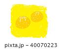 ゆず 柚子 水彩 イラスト 手描き 40070223