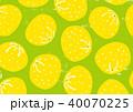 ゆず 柚子 水彩 イラスト 手描き 40070225