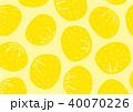 ゆず 柚子 水彩 イラスト 手描き 40070226