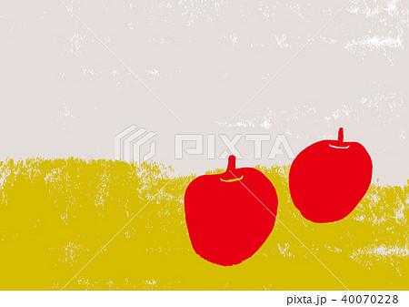 りんご 水彩画 40070228