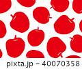 りんご 水彩画 40070358