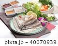 うなぎ ウナギ 鰻の写真 40070939