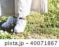 女性 散歩 外出の写真 40071867