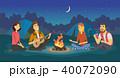 イラスト 挿絵 人々のイラスト 40072090