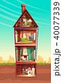 ベクトル 住宅 住居のイラスト 40077339