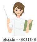 女性 看護師 カルテのイラスト 40081846