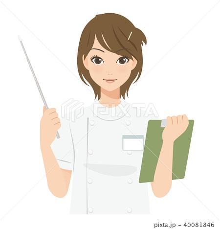 がんばるオンナノコ 看護師・エステティシャン 40081846