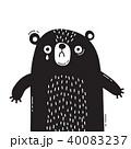 くま クマ 熊のイラスト 40083237