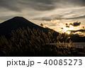 三国峠パノラマ台より望む富士山 40085273