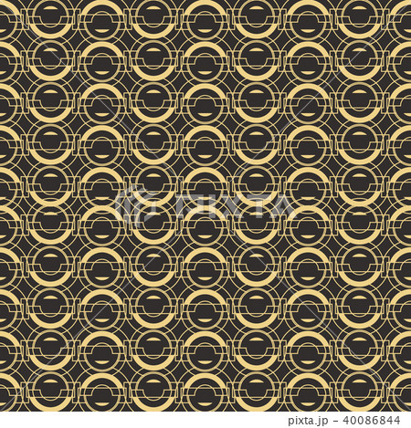Abstract art deco seamless pattern 02 40086844