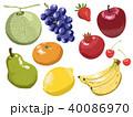 ベクター 果物 フルーツのイラスト 40086970