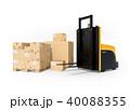 運搬 物流 パレットのイラスト 40088355