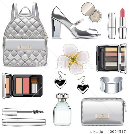 Vector Silver Fashion Accessories 40094517