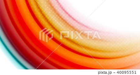 Gel jelly fluid flowing liquid rainbow style colours, wave abstract background, modern minimal 40095551