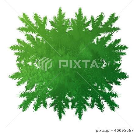 green forest kaleidoscope frame 40095667