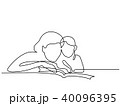 ベビー 赤ちゃん 赤ん坊のイラスト 40096395