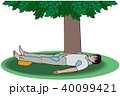 熱中症 冷やす 応急手当のイラスト 40099421